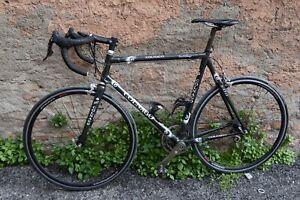 Dettagli Su Bici Da Corsa Colnago C 40 B Stay Carbonio 56