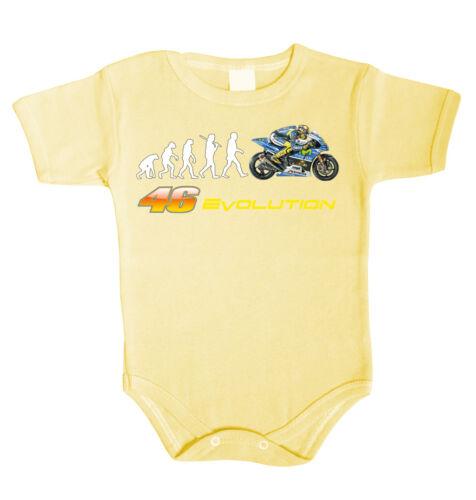 Baby Body Biker R1 46 Moto GP Babykleidung Strampler Unterwäsche Geschenk