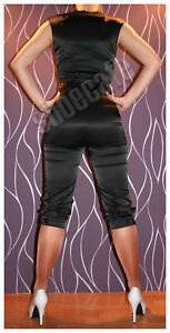 Catsuit-Overall-Jumpsuit-schwarz-designed-by-Madonna-for-H-amp-M