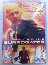 Bruce Willis Rosamund Pike SURROGATES ~ 2009 Sci-Fi Thriller | UK DVD