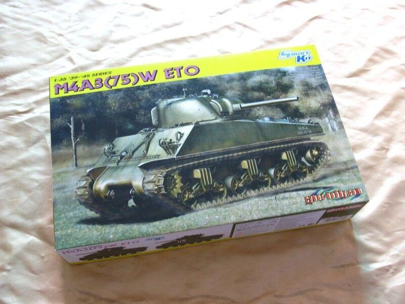 Dragon 6698 1 35 Sherman M4A3 75(W) ETO