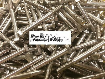 5 M6-1.0x65 Stainless Steel Hex Head Cap Screws//Bolts 6mm x 65mm