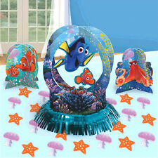 NEW Disney Finding Dory Nemo Birthday Party Favors Table Decorating Kit Supplies
