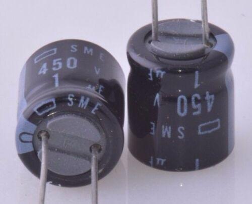 1uF 450v ALUM ELECTROLYTIC CAPACITOR 200 PCS NOS Free Shipping US Seller