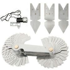4pcs Screw Thread Pitch Cutting Gauge Tool Set Centre Gage 55amp60 Inch Amp Metric