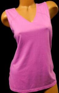 Danskin-now-light-purple-back-spotted-print-women-039-s-plus-tank-top-XL-16-18