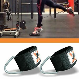 D-Ring-Strap-Multi-Gym-Cable-Attachment-Leg-Pulley-Weight-Lifting-Stretch
