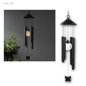 Windspiel-mit-LED-Solar-Gartenleuchte-Dekoration-fuer-Garten-mit-Beleuchtung