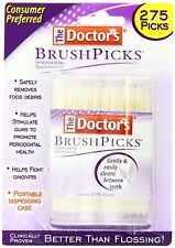 Doctors Brushpicks Brush Picks Interdental Toothpicks - 275 Count