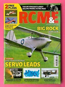 Rcm-amp-e-Magazin-Oktober-2016-Enthaelt-Plans-Fuer-Hangar-Affe-amp-Geist-Rider