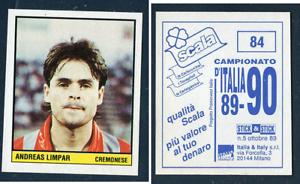 Limpar-CREMONESE-RARA-ITALIANO-EDIZIONE-1989-CALCIO-NOVELLINO-SCALA-Arsenal