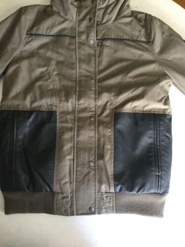 Vinterbeklædt Hætte Jacket Isoleret Bomber Vans Med Frakke Størrelse S Kvinder qXRtw8