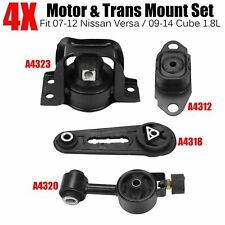 New Engine Motor Mount For 07-11 Nissan Versa 09-11 Cube 1.8L Front 4320T