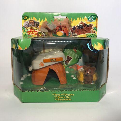 The original Jungle IN MY POCKET SERIES 2-gli orsi grotta Bob
