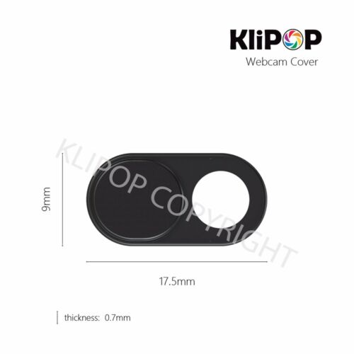 3Pcs//Pack KLIPOP Premium Metal Webcam Privacy Camera Lens Cover iPhone//Laptops