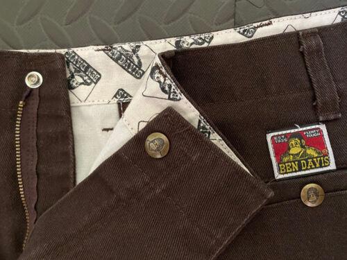 Vintage Ben Davis Work Wear Pants Brown 32 Waist