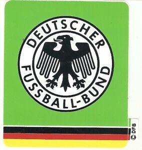 DFB Aufkleber DEUTSCHER FUSSBALL BUND 11x9,5