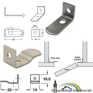 Hafele Metallo nichel/porta in acciaio dolce STOP A Vite Di Fissaggio Inserto Cucina Armadi