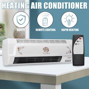 Heating-Air-Conditioner-Bathroom-Wall-Mounted-Remote-Control-55W-500W-220V-UK