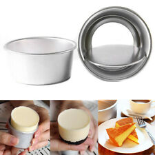 3X Aluminum Nonstick Round Cake Pan Tray Baking Mould Tins Bakeware Tools Mini