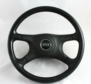 AUDI-B4-8A0124-893419660-steering-wheel-OEM-Black