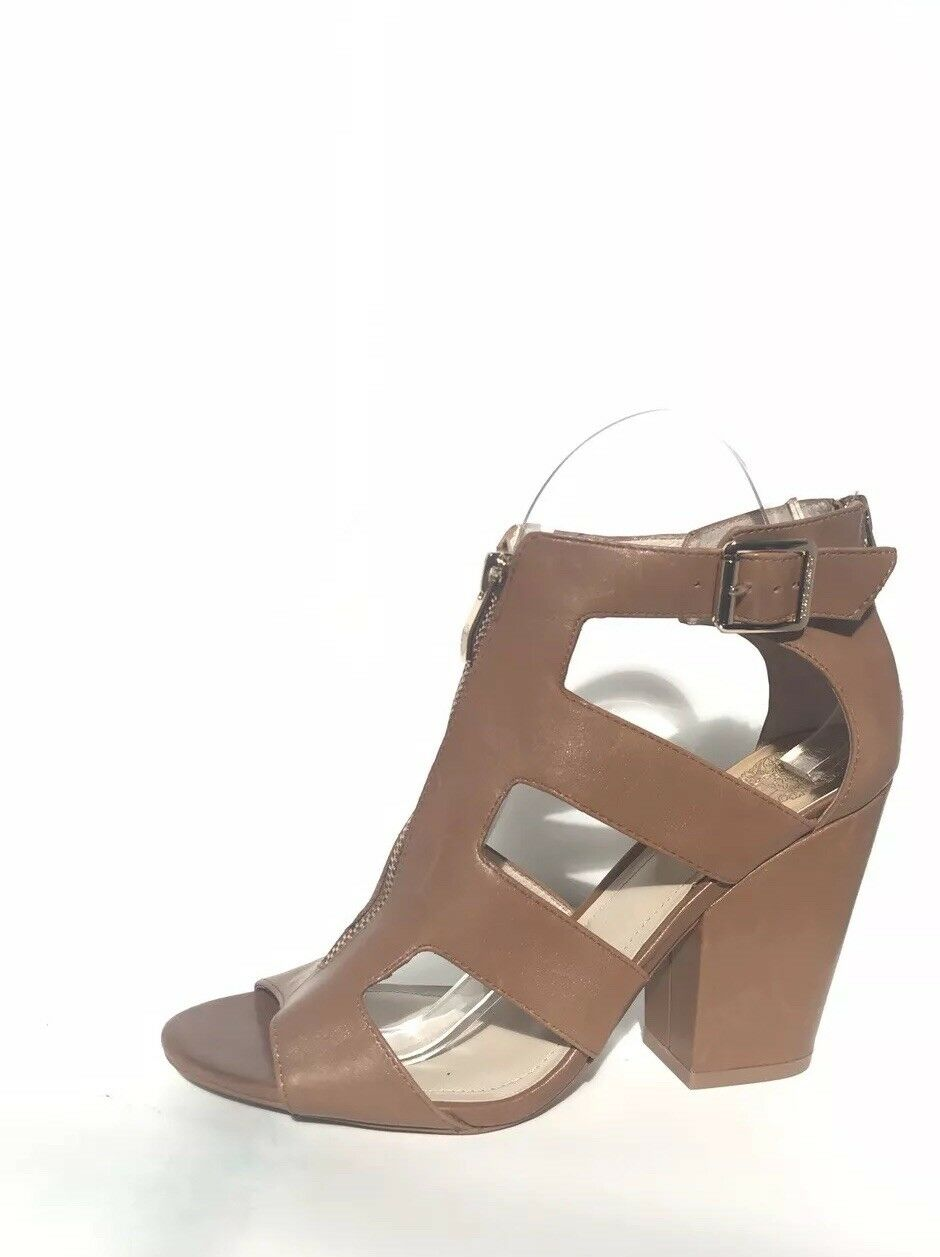 Vince Camuto M Brown Leather Heels size 8 M Camuto febe97
