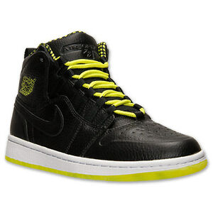 9274c5c8ad4e5b Men s Air Jordan Retro 1 94 Black Venom Green White New In Box ...