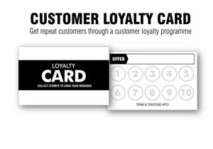 Customer Loyalty Cards For Start Ups