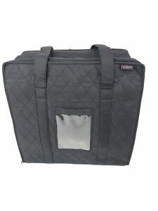 Details About Yazzii Universal Campanion Craft Organizer Tote Storage Shoulder Bag Black