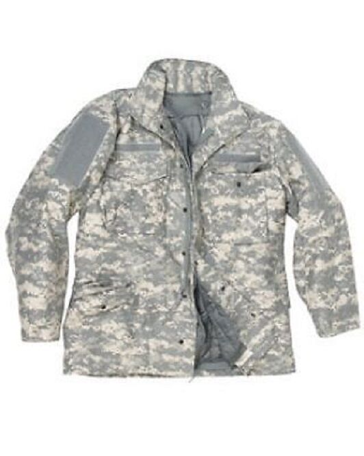 US Ucp M65 Armée Veste Parka Acu Parka Jacket Douazulre Liner 2XL   Xxlarge