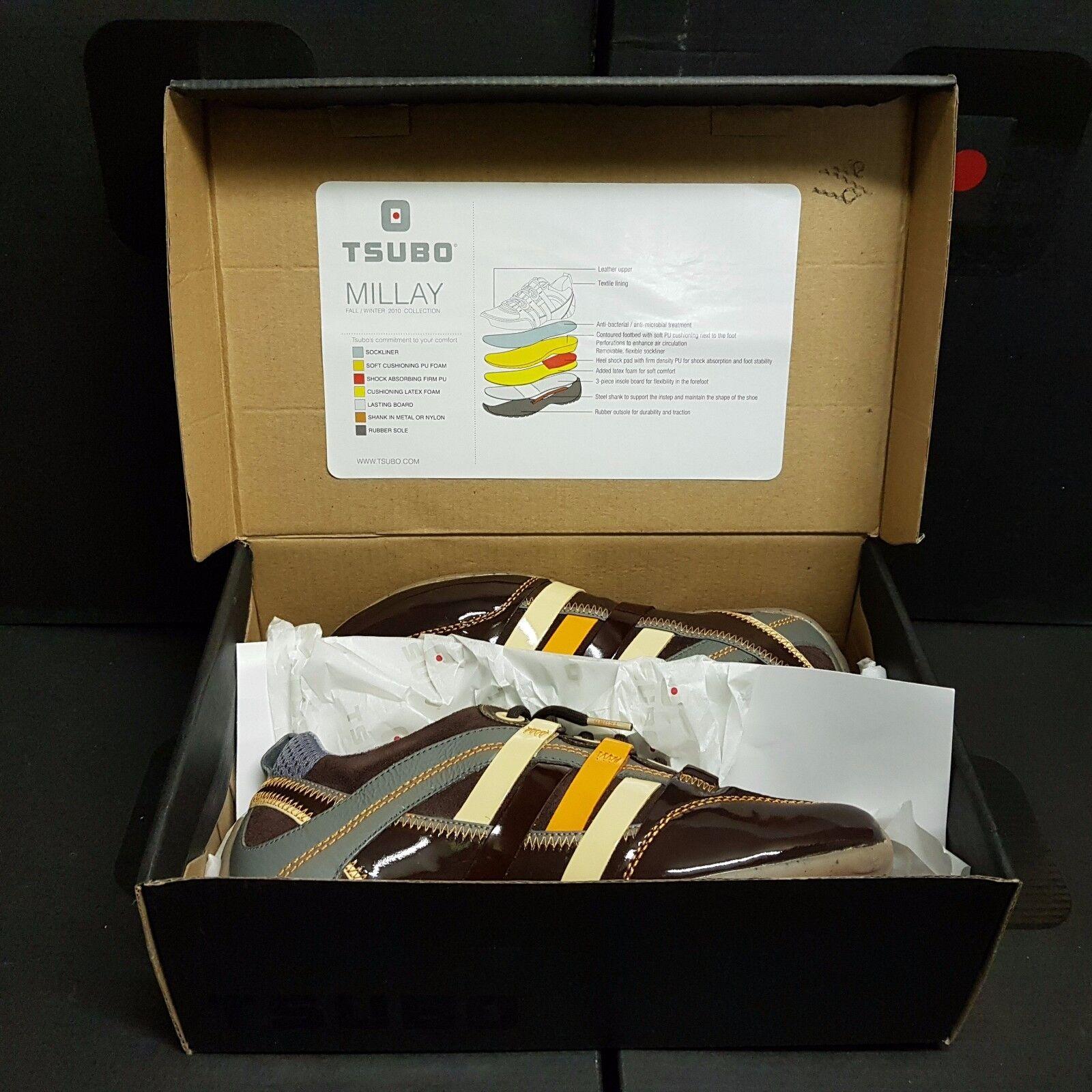 TSUBO Millay uomo donna scarpe scarpe scarpe da ginnastica leather scarpe US 7 EUR 38 (rrp ) | tender  9d520d