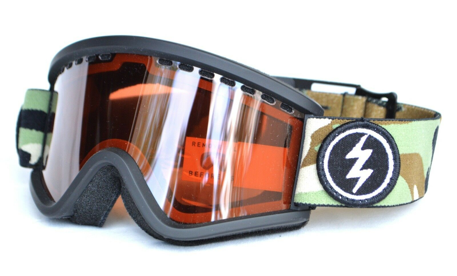 2018 NWT KIDS ELECTRIC EGV.K SNOWBOARD GOGGLES  Camo   Bpink