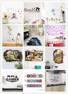 Diy Wandtattoo 3d Wandsticker Home Art Deko Kinderzimmer