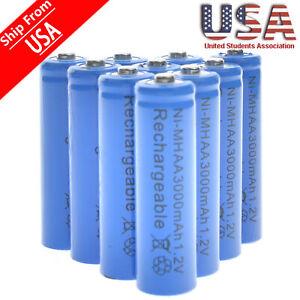 20-AA-Rechargeable-Batteries-NiMH-3000mAh-1-2v-Garden-Solar-Ni-MH-Light-LED-USA