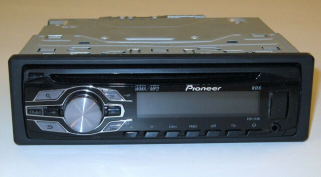pioneer deh 24ub cd player in dash receiver ebay rh ebay com pioneer deh-24ub wiring diagram pioneer deh-24ub wiring diagram