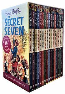 Enid-Blyton-Secret-Seven-16-Books-Collection-Box-Set-Children-Gift-Pack