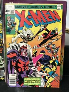 Uncanny-X-Men-104-FN-VF-7-0-Return-of-Magneto-Wolverine-Storm-Cyclops