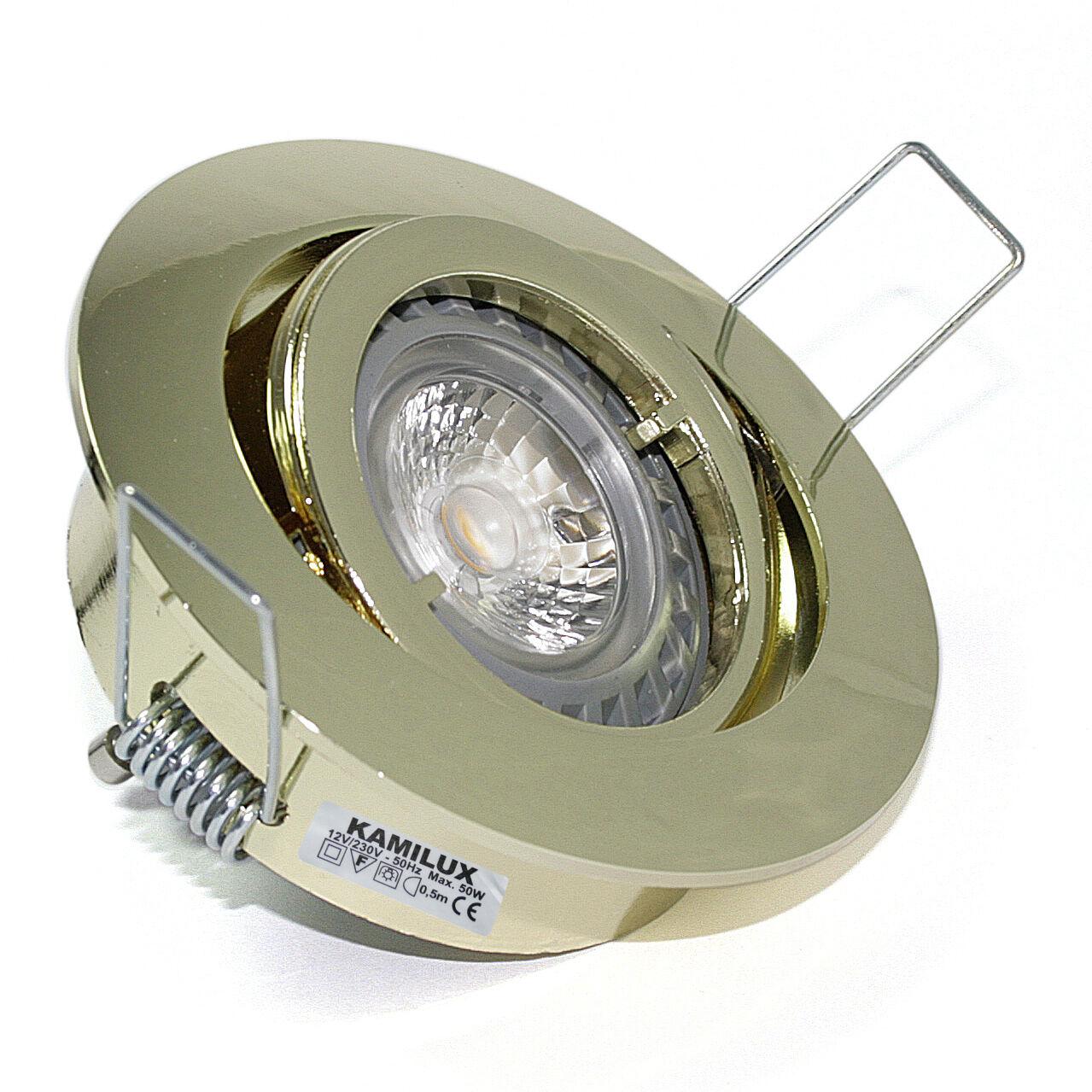Kamilux Einbaulicht Bajo 230V Bad Einbaustrahler ohne Leuchtmittel Licht GU10   | Garantiere Qualität und Quantität  | Gemäßigten Kosten  | Spielen Sie auf der ganzen Welt und verhindern Sie, dass Ihre Kinder einsam sind