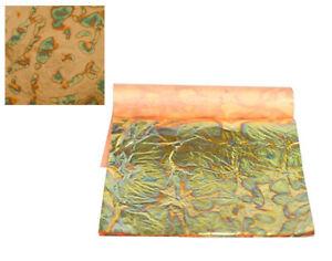 3-Green-Gold-Annealed-Metal-Foil-Leaf-Squares-for-Adults-Gilding-Crafts
