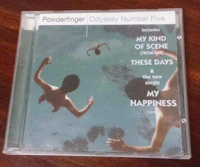 Odyssey Number Five by Powderfinger (CD)