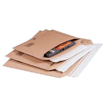 Cf.da 20buste A Sacco In Cartoncino Adesive Chiusura Lato Lungo Varie Dimensioni