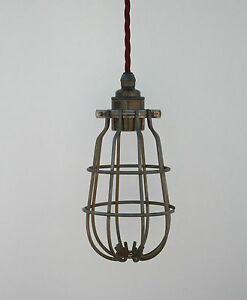 industrial cage lighting. Image Is Loading Light-Cage-Vintage-Industrial-Cage-Light-Lamp-Guard- Industrial Cage Lighting I