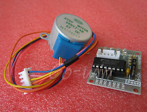 5V-Stepper-Motor-28BYJ-48-With-Drive-Test-Module-Board-ULN2003-5-Line-4-Phase
