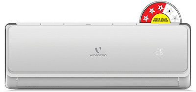 Videocon Split AC 1.0 Ton 3 Star (Air Conditioner)- 2017 MODEL+ Brand New Sealed