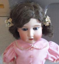 "BIG Vintage 1910s Bisque Composition Morimura Bros MB Girl Doll to Restore 20"""
