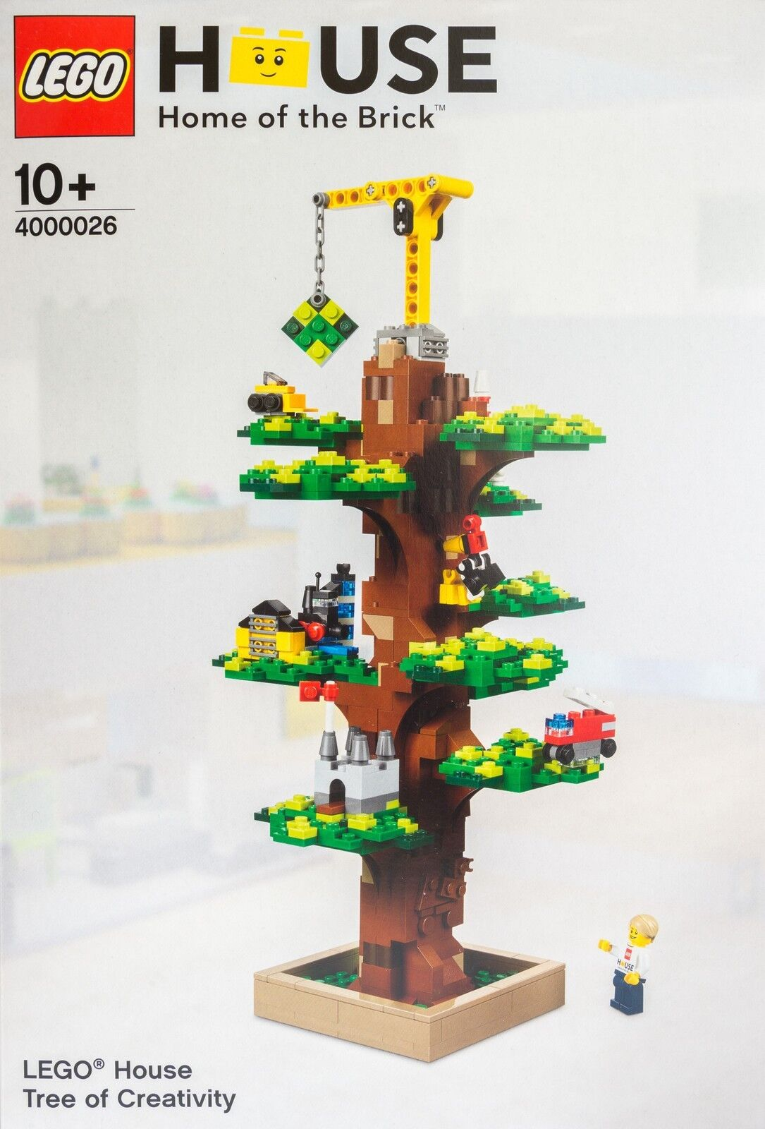 LEGO ® Specials 4000026 LEGO House Tree of creativity NUOVO OVP _ NEW MISB NRFB
