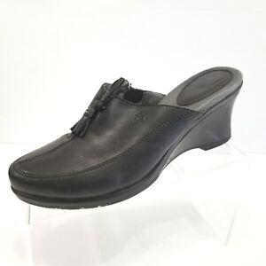 2a979b467e3 La foto se está cargando  Zapatos-De-Cuero-Ariat-Mujer-Cordones-Casuales-Mulas-