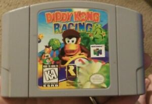 Diddy-Kong-Racing-Nintendo-64-Authentic-Game-Cartridge-Only-Tested-Works-N64