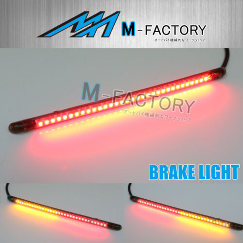 Fit Ducati MotorCycles STORM-Z 210mm FX LED Integrated Blinker Tail Light Strip