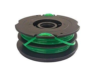 Dual Line Spool for Black /& Decker Trimmer DF-080 GH1100 GH2000 12-Pack